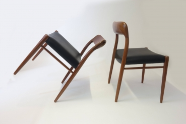6 chairs by J.L. Möller
