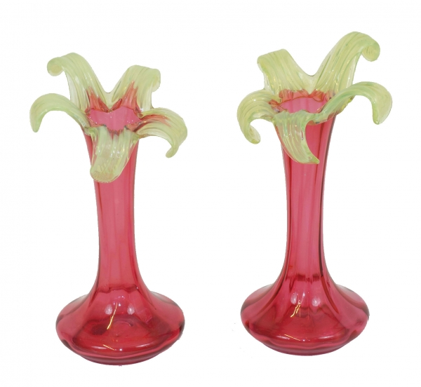 Pair of vases Art Nouveau SOLD